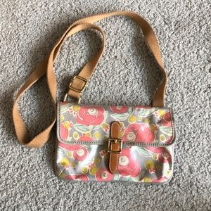 Fossil floral print cross body